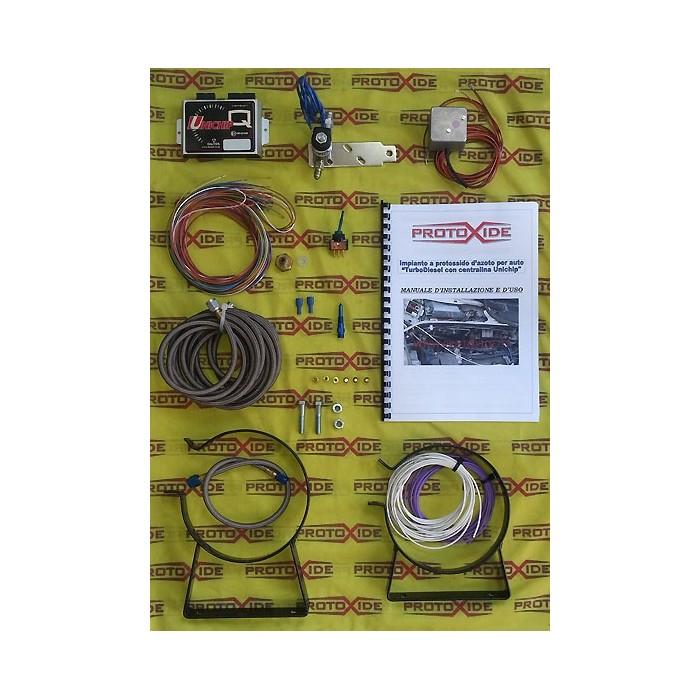 Kits d'oxyde nitreux pour turbodiesel 1.9 JTD 16v-8 Kit auto essence et oxyde extérieur diesel