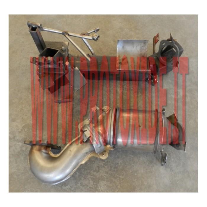 Downpipe VW Golf 1.4 turbo 122 hp senza catalizzatore Downpipe per motori turbo a benzina