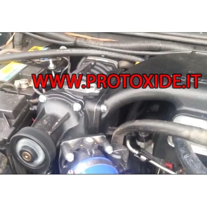 Volumetric Kit for Jeep JK Wrangler 3.8 V6 Superchargers