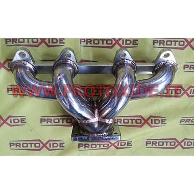Collettore scarico acciaio Trasformazione turbo Fiat 500-600 motore Fire Collettori in acciaio per motori Turbo Benzina