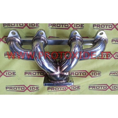 Exhaust manifold Fiat Uno Turbo-Point-Fire engine - T2 ALL TIG Stainless steel manifolds for Turbo Gasoline engines
