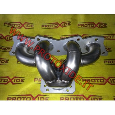 Manifold Paslanmaz çelik GrandePunto Fiat - Abarth 500 Turbo Benzinli motorlar için çelik manifoldlar