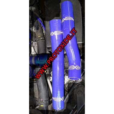 強化シリコーンホース水青ヒュンダイジェネシス2.0ターボ2個。 自動車用の特定の袖