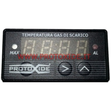 exhaust gas temperature meter - compact - with peak memory Temperature measurers