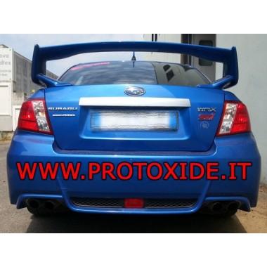 Plný výfuku Subaru Impreza Sedan žiadny kat Kompletné výfukové systémy z nerezovej ocele