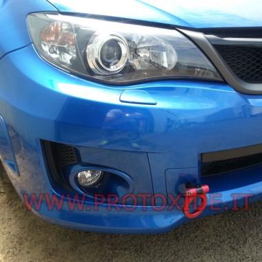 Piekabes āķa par Subaru konkrētu Alu anodēta Subaru Impreza