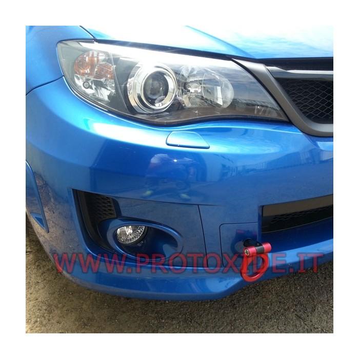Towbar for Subaru specific Alu anodized Subaru Impreza