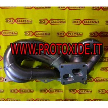 Colector de escape Lancia Delta 16v turbo Mitsubishi Evo conexión turbo Colectores de acero para motores Turbo Gasoline
