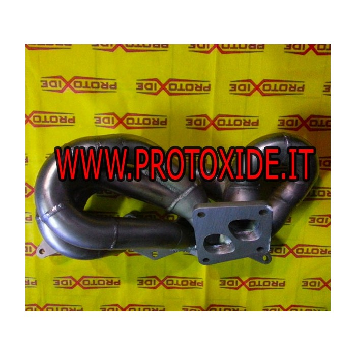 Abgaskrümmer Lancia Delta 16v Turbo Mitsubishi Evo Angriff Stahlverteiler für Turbo-Benzinmotoren