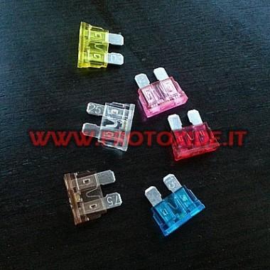 Drošinātājs standarta ar integrētu LED Elektroniskie komponenti