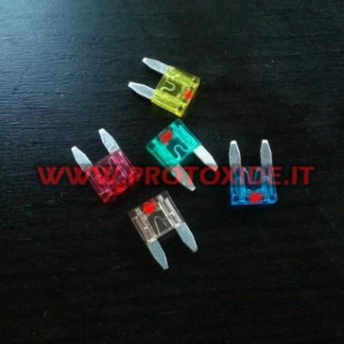 Mini drošinātājs ar integrētu LED Elektroniskie komponenti