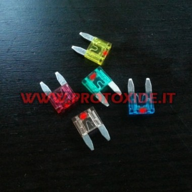 Mini fuse with integrated LED Electrical auto parts