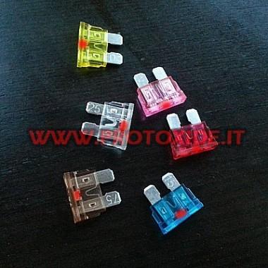 Zekering standaard met geïntegreerde LED Elektronische componenten