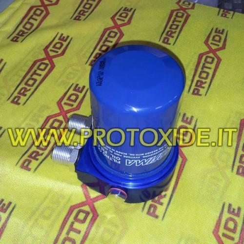 Adattatore sandwich per radiatore olio Fiat 1.400 500 Abarth T-jet -panda 100HP 1200 8-16v Supporti filtro olio e accessori p...