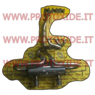 Scarico completo marmitta acciaio Renault Clio 3000 V6 acciaio Inox