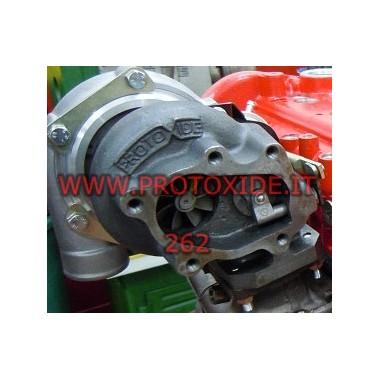 Turbolader lejer på dobbelt gto 262 1.4 16V Abarth Turboladere på racing lejer