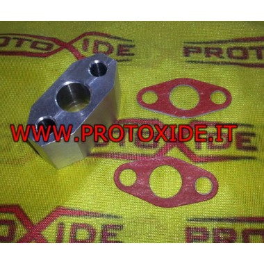 Ulei de scurgere pentru turbocompresoare Garrett distanțier GT - Mitsubishi TD04 accesorii Turbo
