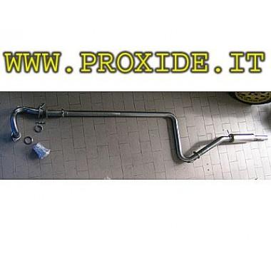 Scarico completo acciaio Inox renault 5 GT Turbo maggiorato Impianti di scarico completi sportivi
