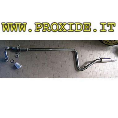 Scarico completo acciaio renault 5 GT Turbo Inox