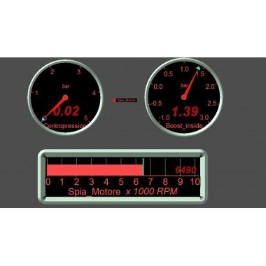 Profesionálne vybavenie pre OBD skúšobnom zariadení v reálnom čase Špecifické nástroje