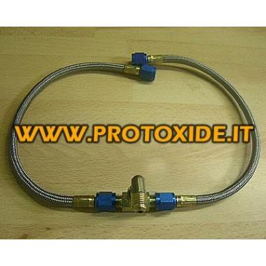 Splitter Kit sylinterit Varaosat typpioksidijärjestelmille