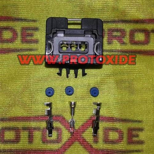 Connettore femmina 3 vie tipo Bosch Connettori elettrici automotive