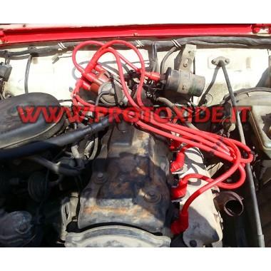 Cavi candela per Suzuki Samurai Sj 410-413 rossi ad alta conducibilità Cavi Candela specifici x auto