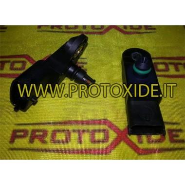 Sensori di pressione per motori Fiat T-jet Abarth con valori di pressione maggiorati fino a 2 bar di pressione turbo Sensori ...