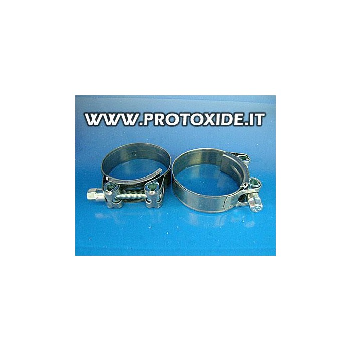 Fascette per alta pressione 50 mm con chiusura a dado pz.2 Categorie prodotti