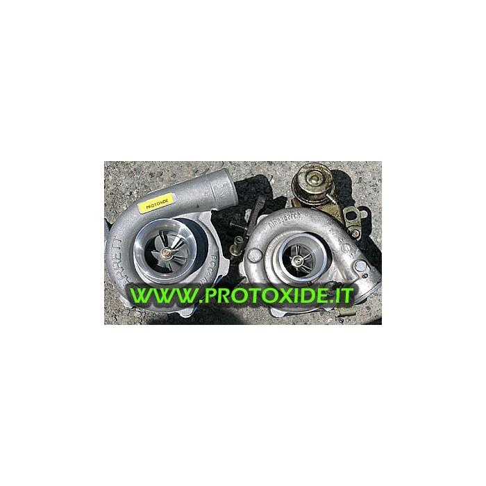 Turbolader GT 28 auf der S60 LAGER Turboladern auf Rennlager