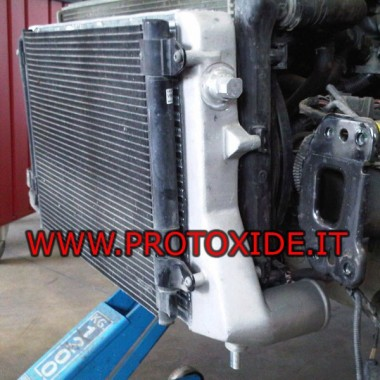 Intercooler frontal específico para Golf 6, Audi S3 y Audi TT TFSI Intercooler aire-aire