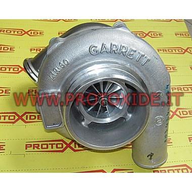 Turbocompresor GTX EPUQ sobre rodamientos con tuerca de banda en V de acero inoxidable Turbocompresores sobre cojinetes de ca...
