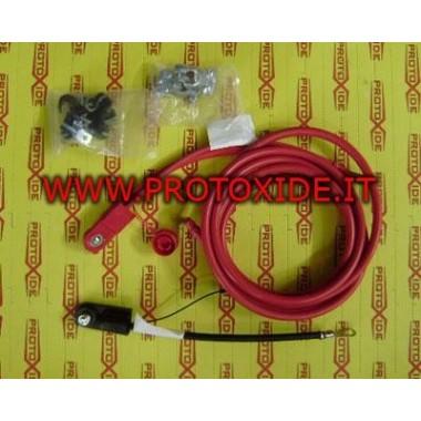 Kit kabels naar de accu te verplaatsen Accukabels