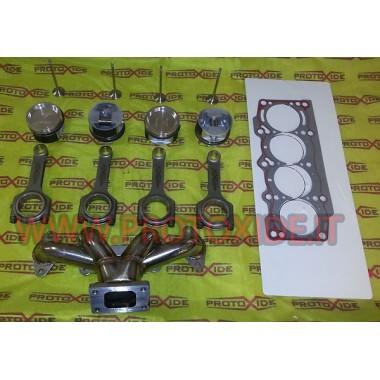 Kit de conversión turbo Bomberos Fiat-Alfa-Lancia 1200 8v Kit de tuning Motor
