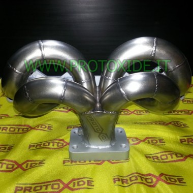 Abgaskrümmer Lancia Delta 2.0 16V Turbo in zentraler Lage Stahlverteiler für Turbo-Benzinmotoren