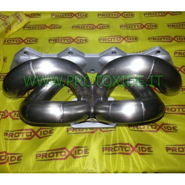 Exhaust manifold Lancia Delta 2.0 16v turbo in central location Stainless steel manifolds for Turbo Gasoline engines