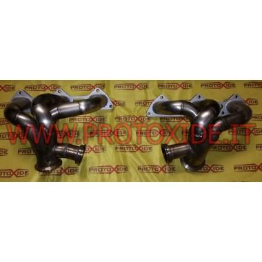 ポルシェ997ターボエキゾーストマニホールド ターボガソリンエンジン用スチールマニホールド