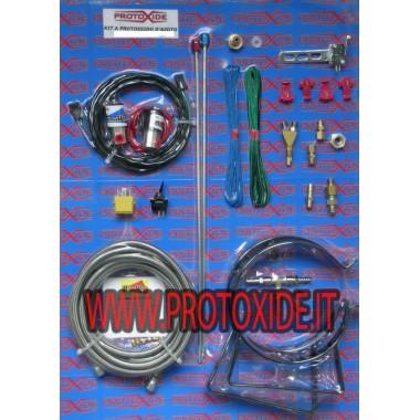 Kits d'oxyde nitreux spécifiques pour Fiat Abarth T-Jet Kit auto essence et oxyde extérieur diesel