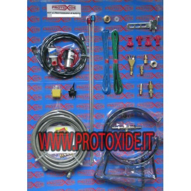 Lattergas kits specifikke for Fiat Abarth T-Jet Auto Bensin og Diesel Outer Oxid Kit