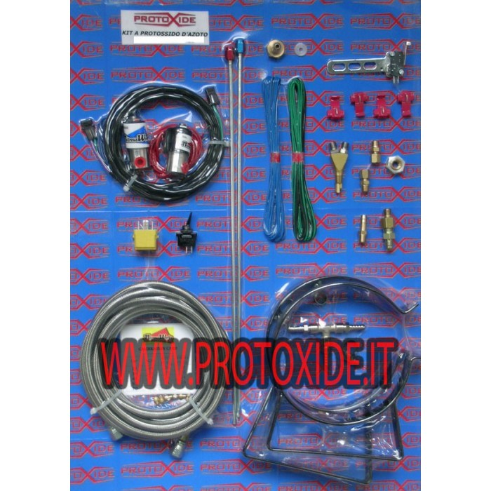 Nitrous oxide kits specific for Fiat Abarth T-Jet