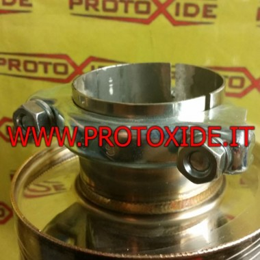 Muffler clamp collar to 72mm