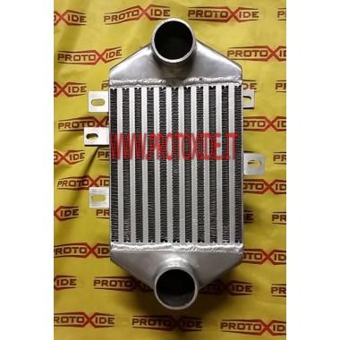 Intercooler tipo 10LL con conexiones laterales Intercooler aire-aire