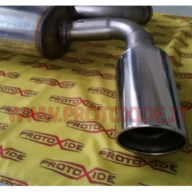 Final discharge for Hyundai Genesis 2.0 turbo Exhaust mufflers and tip terminals