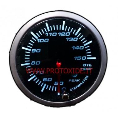 Jauge d'huile de la température avec la mémoire de 60mm Mesures de température