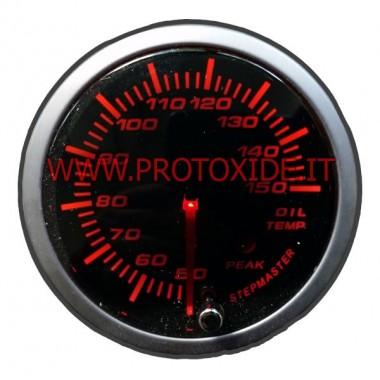 Misuratore Temperatura Olio con memoria 60mm rotondo Misuratori Temperatura
