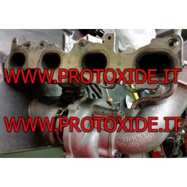 Canvi del turbocompressor alfaromeo Giulietta 1750 TB Turbocompressors sobre coixinets de carreres