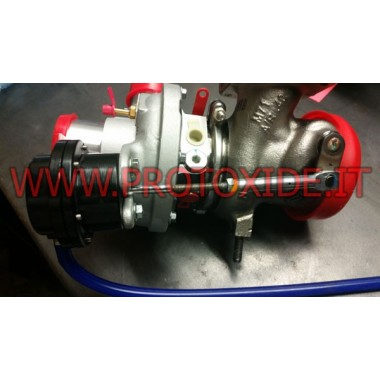 GrandePunto 1.4 Turbo SS Turbo Kit Takviyeli Wastegate Dahili atık kapağı