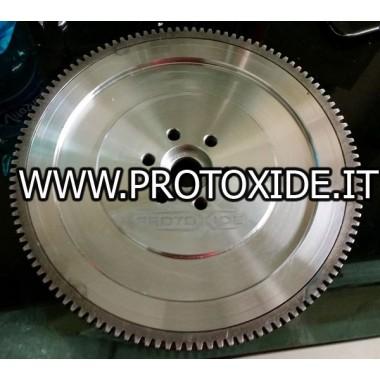 комплект маховик стомана с двоен плоча съединител GrandePunto- Fiat 500 Abarth - Tjet Комплект с колела с подсилен букиско съ...