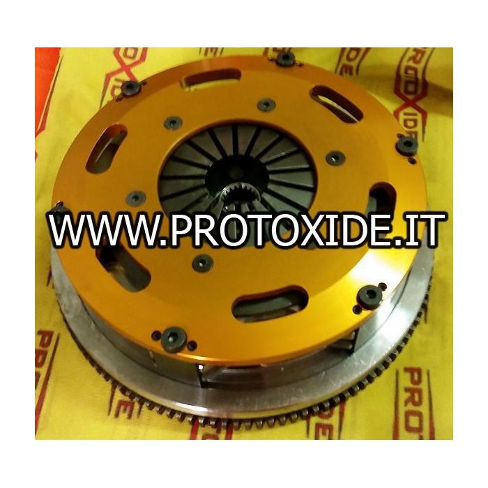 Steel flywheel kit with twin-disc clutch Fiat Punto GT Turbo