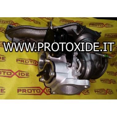 Verandering van de turbocompressor Alfaromeo Giulietta 1750 TB Turbochargers op race lagers